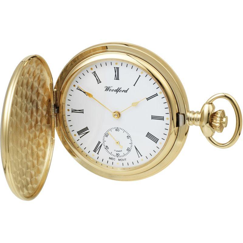 Woodford Full Hunter Mechanical Watch