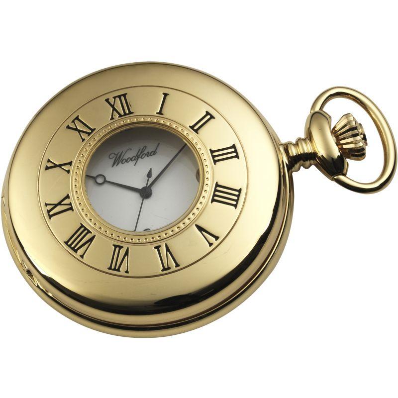 Woodford Half Hunter Pocket Watch
