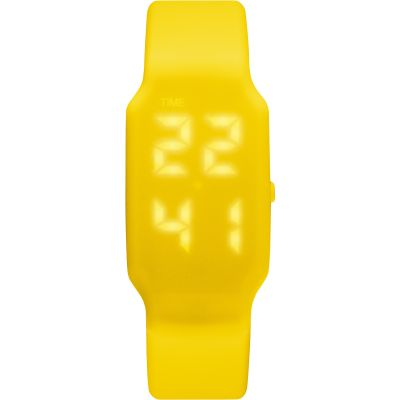 Mens Verb 4GB USB Rechargeable LED Yellow Watch VRB-004
