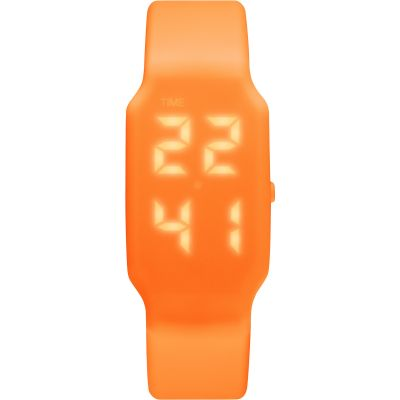 Mens Verb 4GB USB Rechargeable LED Orange Watch VRB-007