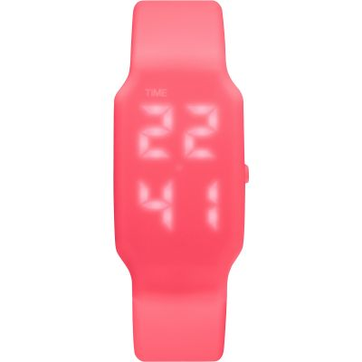 Montre Homme Verb 4GB USB Rechargeable LED Shocking Pink LED VRB-008