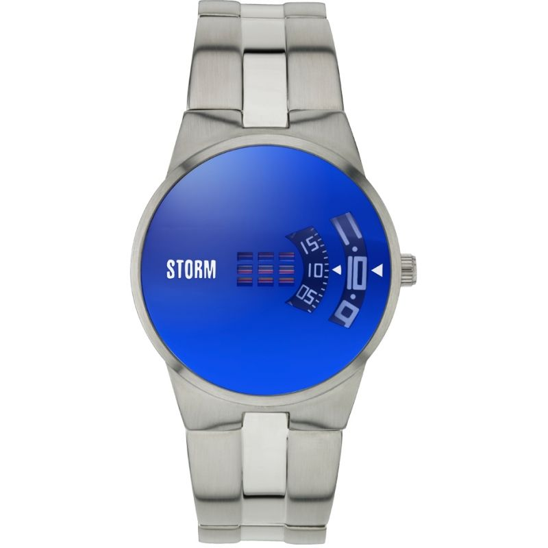 Mens Storm New Remi Lazer Blue Watch