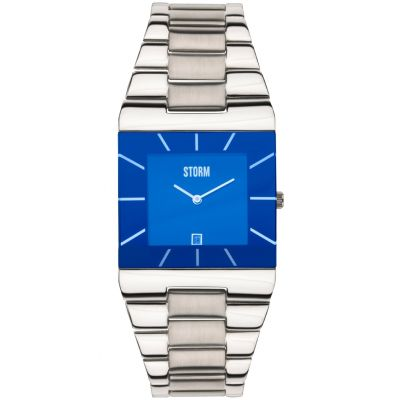 Mens STORM Omari XL Lazer Blue Watch 47195/B