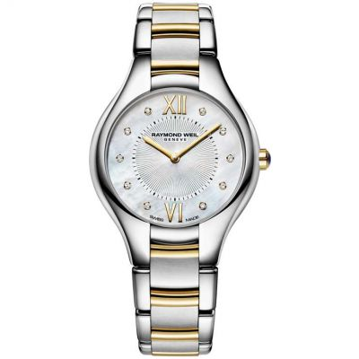 Ladies Raymond Weil Noemia 32mm Diamond Watch 5132-STP-00985