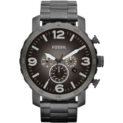 Fossil Nate Herrenuhr in Grau JR1437