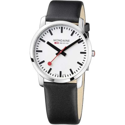 Mondaine Swiss Railways Dameshorloge Zwart A6383035011SBB