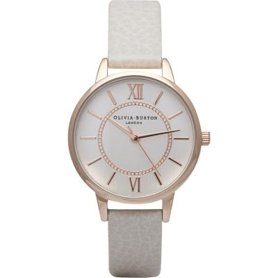Wonderland Rose Gold & Mink Watch