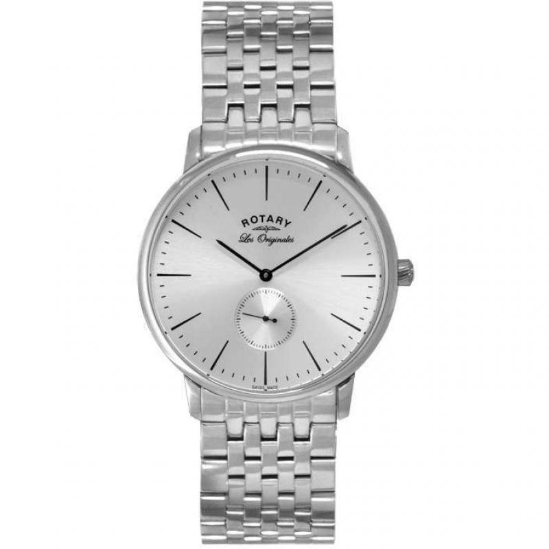 Mens Rotary Swiss Made Kensington Quartz Watch
