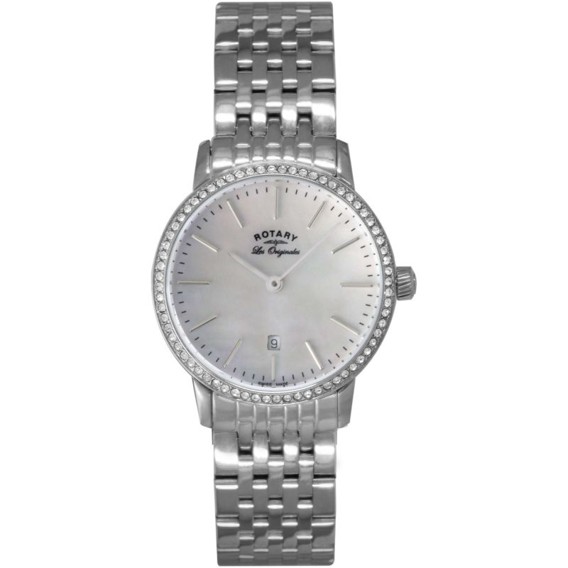 Ladies Rotary Swiss Made Kensington Quartz Watch