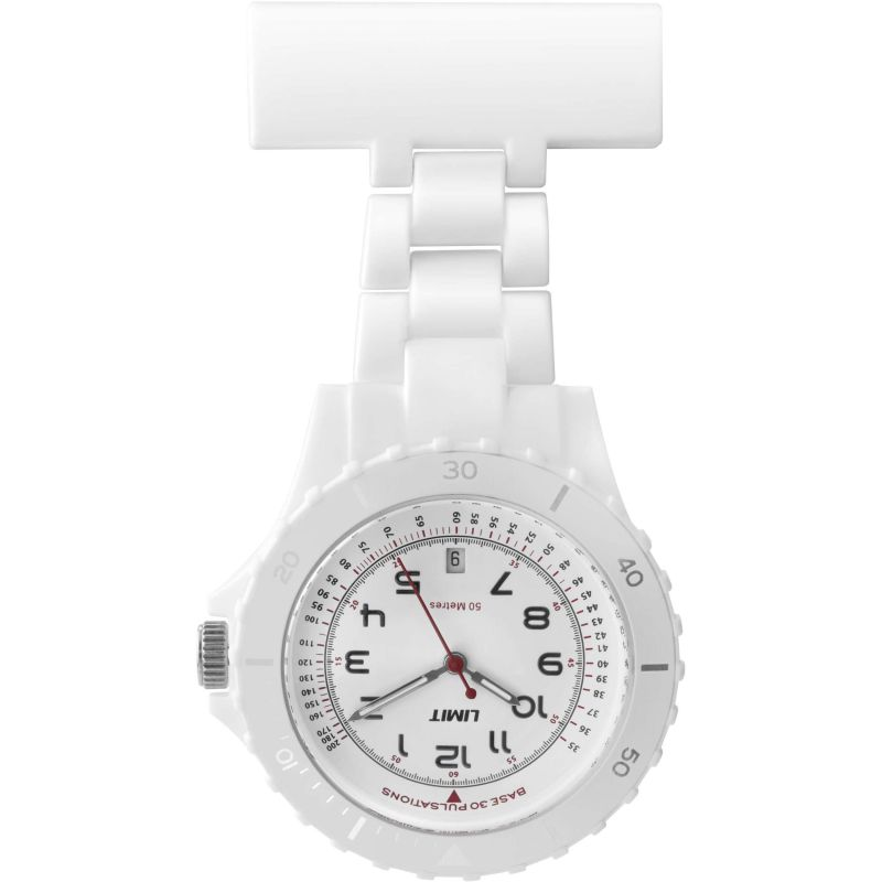 Limit Nurse White Fob Watch  6012.90