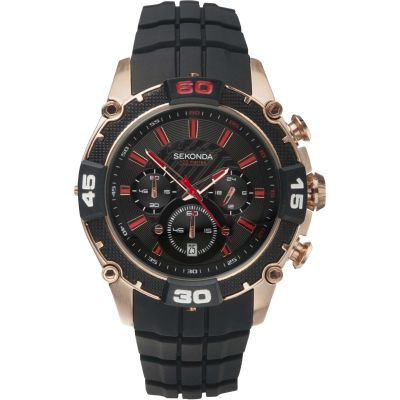 Mens Sekonda Chronograph Watch 3490