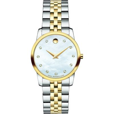 Ladies Movado Museum Classic Diamond Watch 0606613