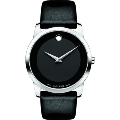 Mens Movado Museum Classic Watch 0606502