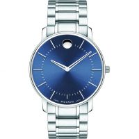 Mens Movado Thin Classic Watch 0606688
