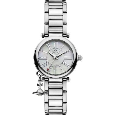 Vivienne Westwood Mother Orb Damenuhr in Silber VV006PSLSL