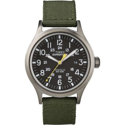 Mens  Indiglo Expedition Watch