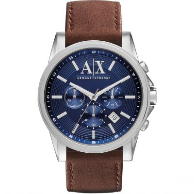 Armani Exchange Herrenchronograph in Braun AX2501