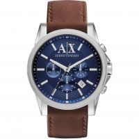 Mens Armani Exchange Chronograph Watch AX2501
