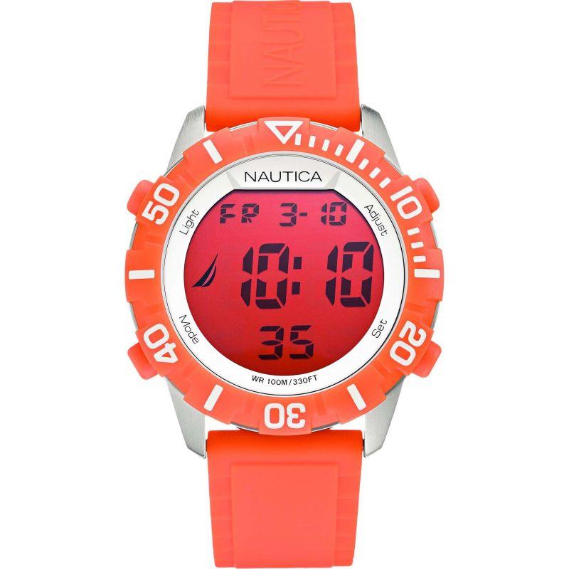 Mens Nautica NSR100 Alarm Chronograph Watch