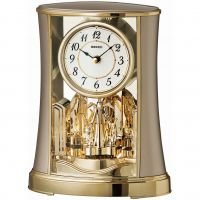 Seiko Clocks Anniversary Mantel Clock QXN227G