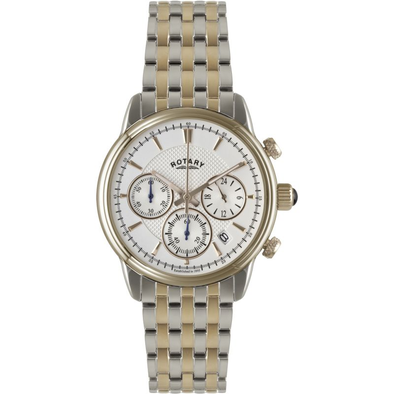 Mens Rotary Monaco Collection Chronograph Watch
