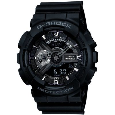 Mens Casio G-Shock Hyper Complex Alarm Chronograph Watch GA-110-1BER