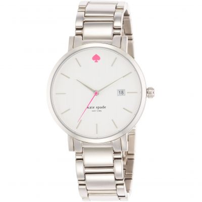 Kate Spade New York Gramercy Grand Dameshorloge Zilver 1YRU0008