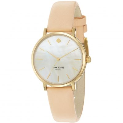 Kate Spade New York Metro Dameshorloge Creme 1YRU0073