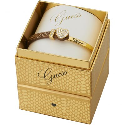 Guess Dames Color Chic Bracelet Box Set PVD verguld Goud UBS91310