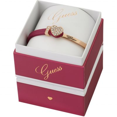 Guess Dames Color Chic Bracelet Box Set PVD verguld Rose UBS91311