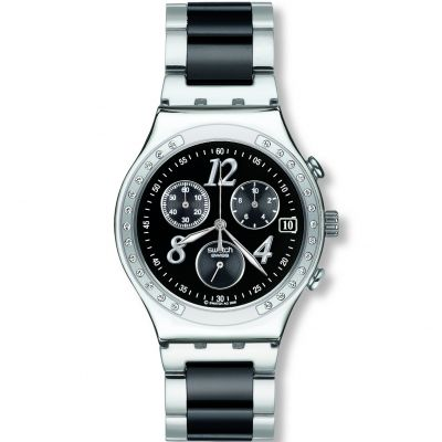 Ladies Swatch Dreamnight Chronograph Watch YCS485GC