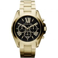 Ladies Michael Kors Bradshaw Chronograph Watch MK5739