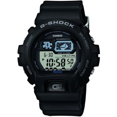 Mens Casio G-Shock Bluetooth Hybrid Smartwatch Alarm Chronograph Watch GB-6900B-1ER