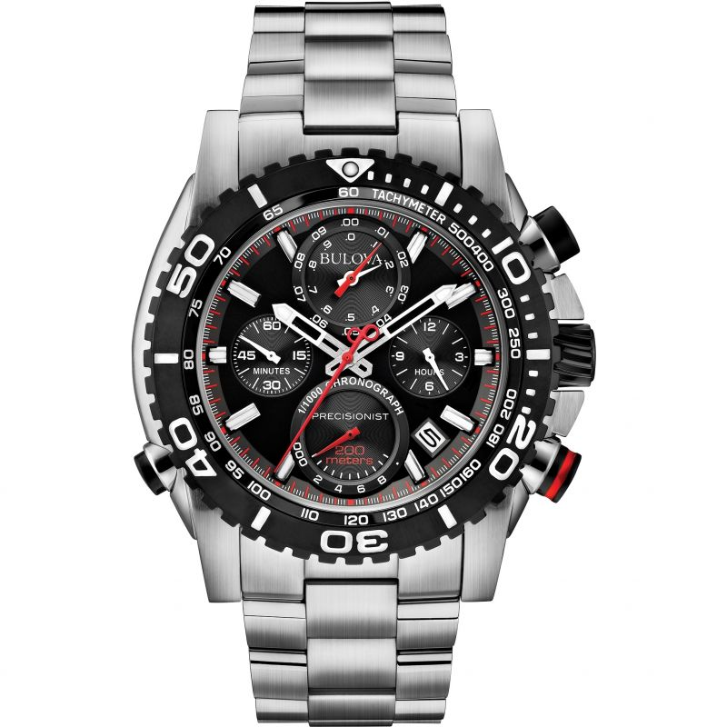 Mens Bulova UHF Precisionist Chronograph Watch