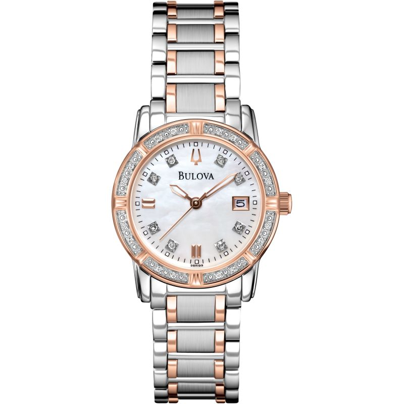 Ladies Bulova Diamond Gallery Highbridge Diamond Watch