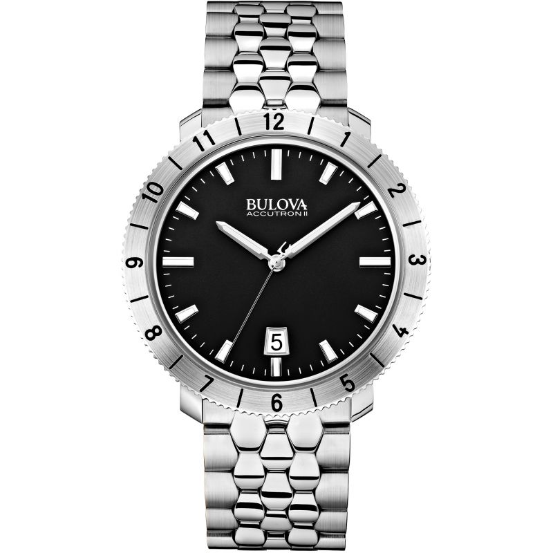 Mens Bulova Accutron II Watch 96B207