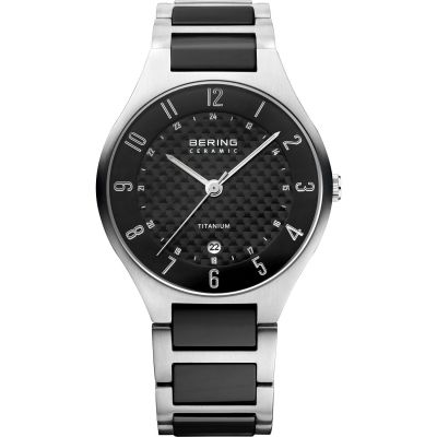 Mens Bering Titanium Watch 11739-702
