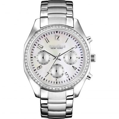 Ladies Caravelle New York Melissa Chronograph Watch 43L159