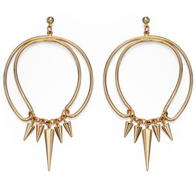 Ladies Fiorelli PVD Gold plated Earrings E4737
