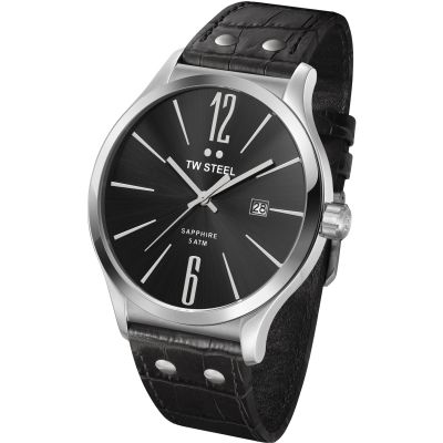 Mens TW Steel Slim Line 45mm Watch TW1300