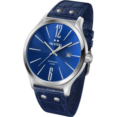 Mens TW Steel Slim Line 45mm Watch TW1302