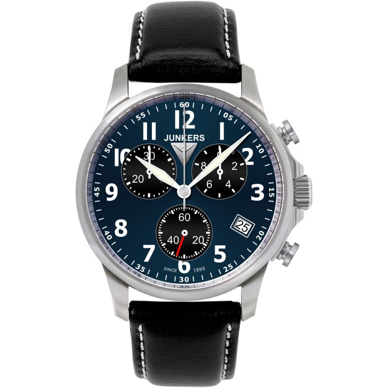 Mens Junkers Tante Ju Chronograph Watch