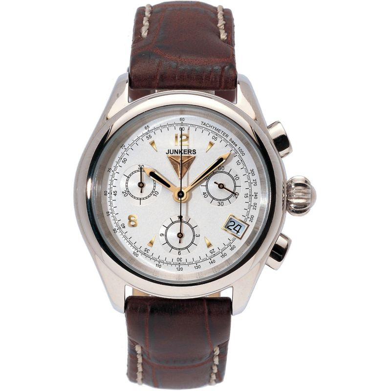 Ladies Junkers Himalaya Pearls Chronograph Watch