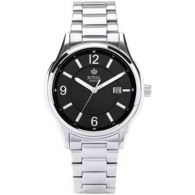 Royal London Herenhorloge Zilver 41222-06