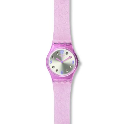 Swatch Brillante Dameshorloge Roze LP132