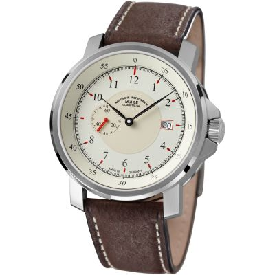 Mens Muhle Glashutte M29 Classic Kleine Sekunde Automatic Watch M1-25-67-LB