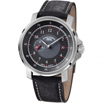 Mens Muhle Glashutte M29 Classic Kleine Sekunde Automatic Watch M1-25-63-LB