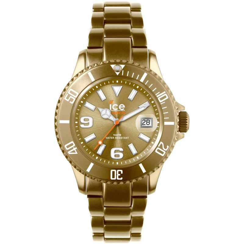 Ice-Watch Ice-Alu Mid Unisexklocka Guld AL.GD.U.A.12