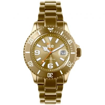 Ice-Watch Ice-Alu Mid Unisexuhr in Gold AL.GD.U.A.12
