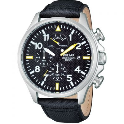 Mens Pulsar Chronograph Watch PS6053X1